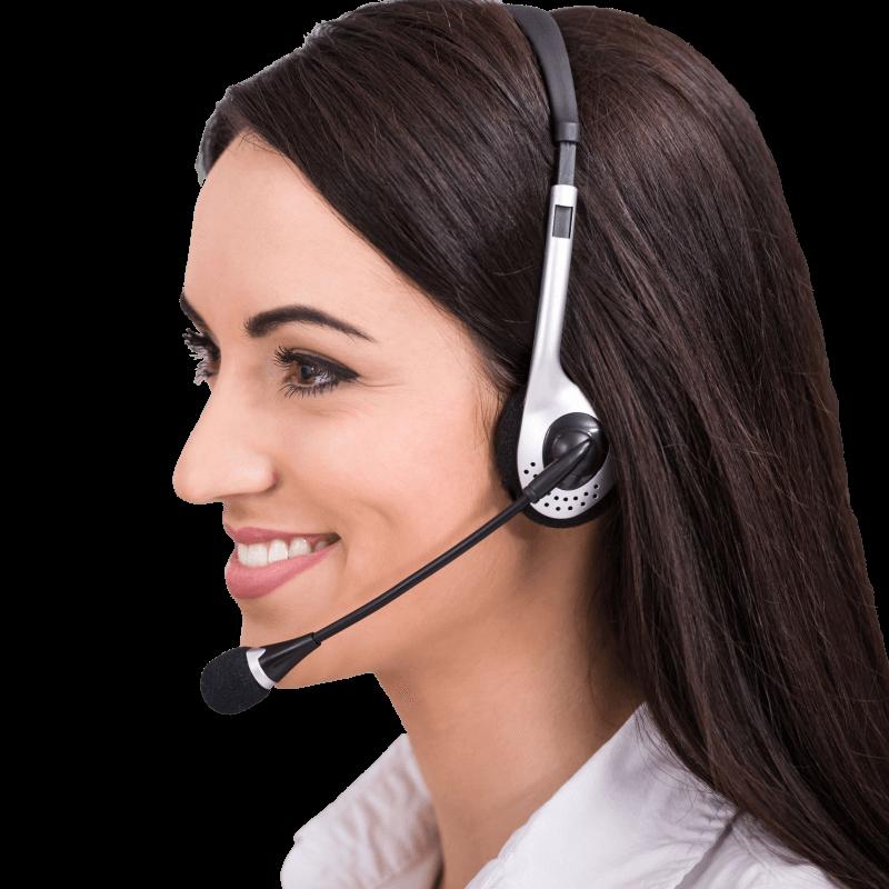virtual receptionist portrait